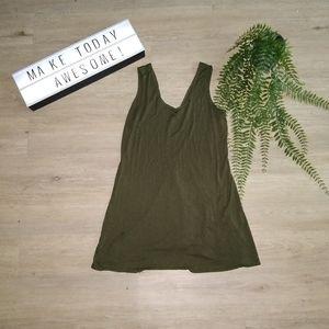 💥😜5/$20 🎀 Olive Green Charlotte Russe Dress